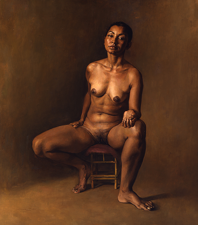 Oil on canvas 120x105 cm 2004