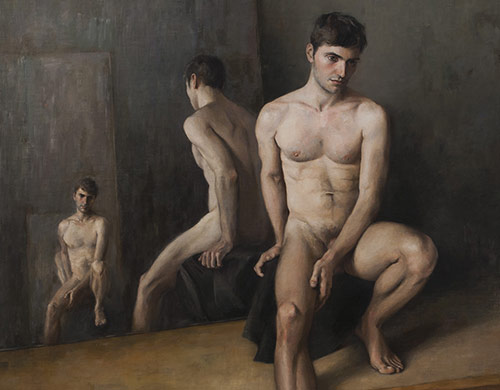 Oil on canvas on panel 91×100 cm 2011