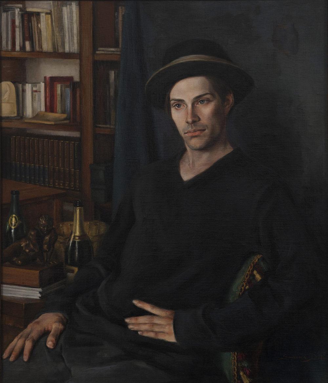 Oil on canvas on panel 60x70 cm 2000