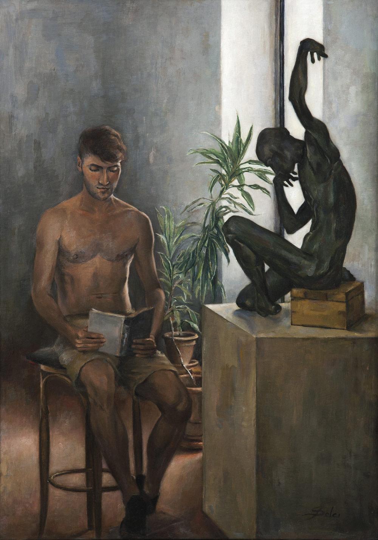 Oil on canvas on panel 50x70 cm 2014