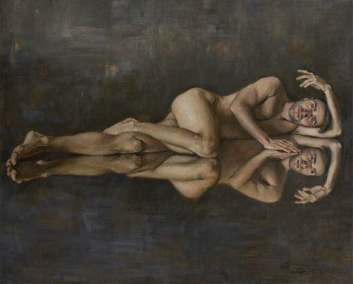 Oil on canvas 75x60 cm 2016
