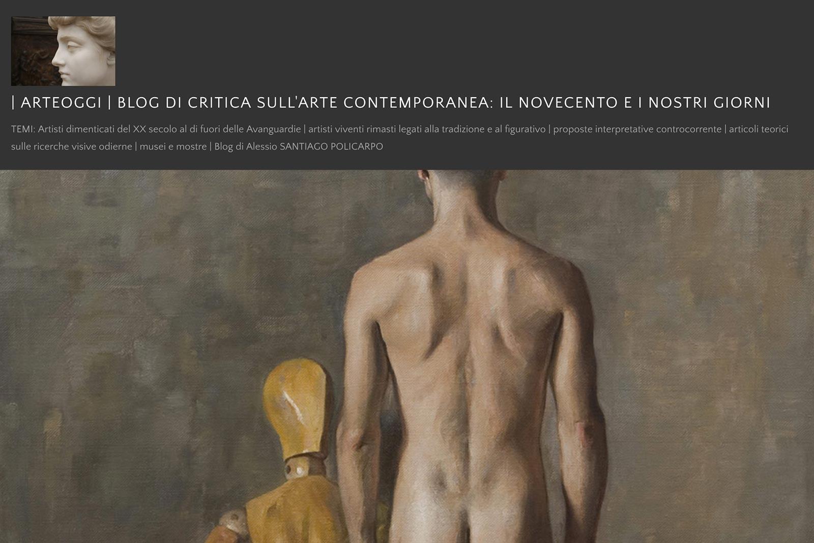 Blog Arte Oggi Simona Dolci